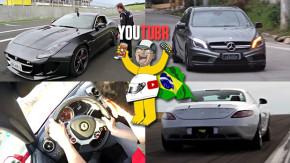F-Type R no Velo Città, Ferrari FF na estrada, A45 AMG e Karmann Ghia TC em detalhes nos melhores vídeos da semana!