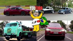 Volta rápida no Nissan GT-R, Fuscas preparados, um passeio de FNM e mais nos melhores vídeos da semana