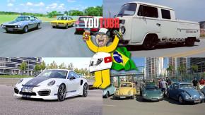 Esportivos brasileiros dos anos 70, Porsche 911 Turbo S TechArt de 620 cv, Kombi AP 2.0 Turbo e mais nos melhores vídeos da semana!