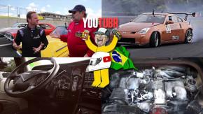 O desafio dos esportivos dos anos 70, um Nissan 350Z de drift no Brasil, caminhão de luxo e mais nos melhores vídeos da semana!