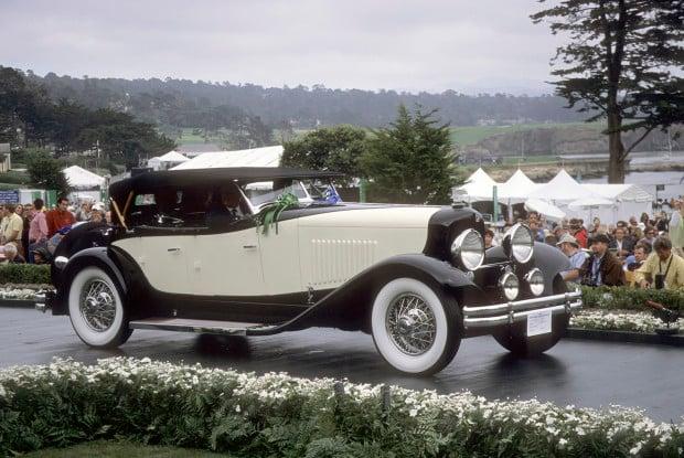 Year:1931, Make:duPont, Model:Model H, Coachbuilder:Merrimac, Style;Sport Phaeton, Owner:Richard E. Riegel Jr., Exhibit Year:2005,