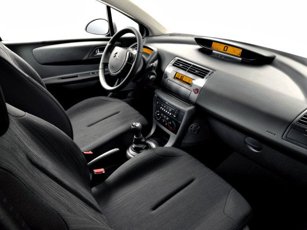 CitroenC4interior