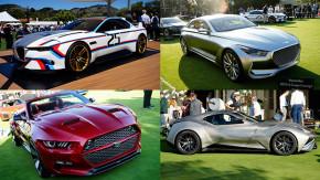 Os carros-conceito que estrearam no Concours d'Elegance Pebble Beach