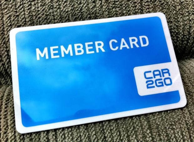 Car2Go-Vancouver-Member-Card