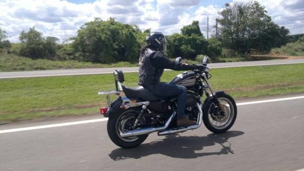 Eu dando um role de Harley