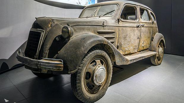 Este carro pode ser o Toyota mais antigo do mundo – e o único sobrevivente