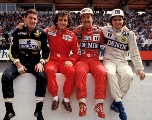 Quot Prost Vs Senna Quot Relembrando A Rivalidade 233 Pica Em Uma