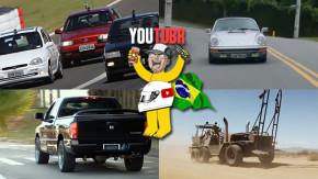 Corrida de hot hatches brasileiros, um Porsche 911S Targa 1976, test drive na Dodge Ram SRT-10 e os carros para o fim do mundo nos melhores vídeos da semana!