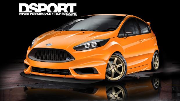 Ford Fiesta ST by DSPORT Magazine