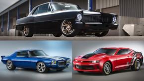 Nova 1967 2.0 turbo, Camaro 1970 com motor de Corvette Z06 e a picape mais americana do mundo: a Chevrolet no SEMA 2015