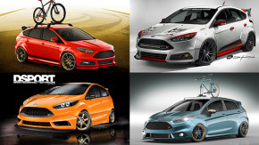 Na rua, na pista e nos ralis: os Focus e Fiesta ST que a Ford vai levar para o SEMA Show 2015