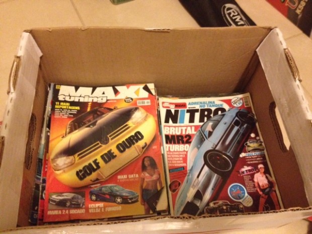 Caixa de Revistas