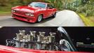 O incrível Chevrolet Corvair com um V8 de corrida atrás dos bancos dianteiros