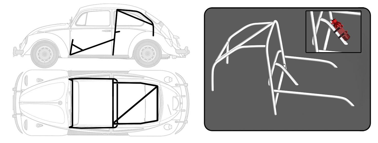 desenho roll bar