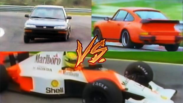 As mais incríveis disputas com monopostos de Fórmula 1 vs. carros de rua
