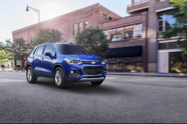 Chevrolet introduces a refreshed 2017 Trax – just 13 months af