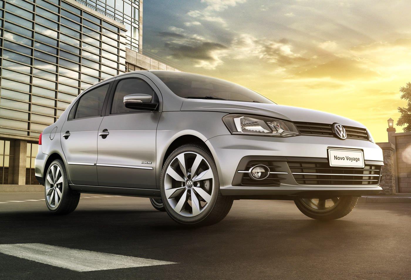 ... cara (quase) nova e multimídia: Volkswagen lança Gol e Voyage 2017