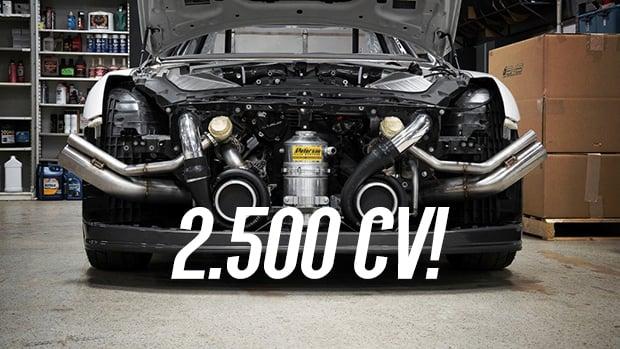 2.500 Cv: AMS Performance Alpha G é O Nissan GT R Mais Potente Do