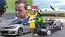 Bebida e direção não combinam (mesmo!), na estrada com o Cadillac DeVille, um test drive no clássico Mercedes C43 AMG e mais nos melhores vídeos da semana!