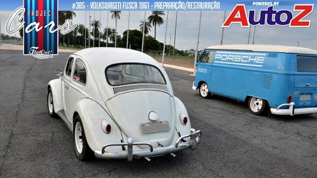 Project Cars #305: começa a restauração do meu Fusca 1961