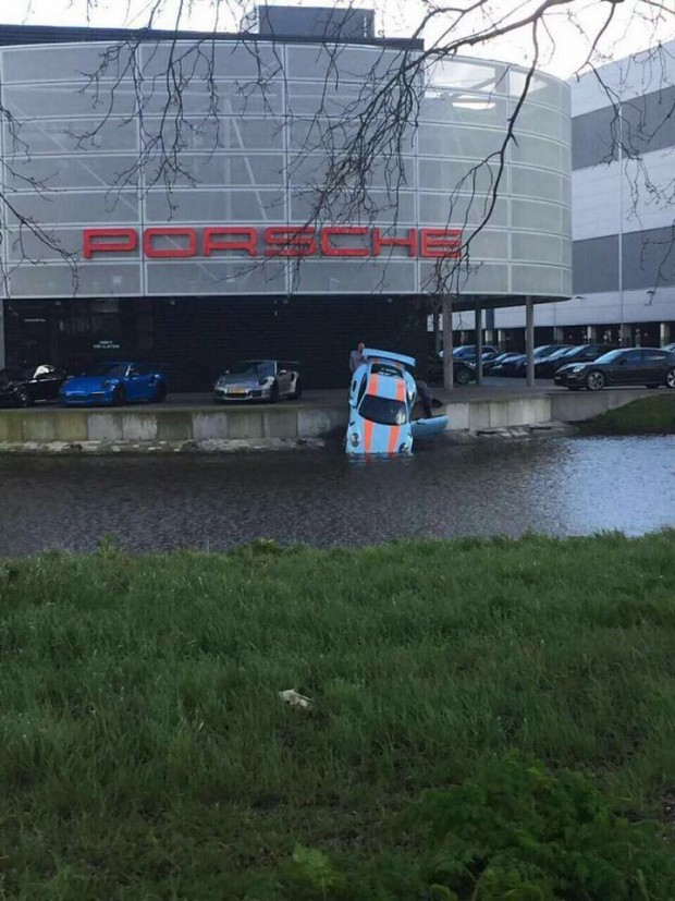 Porsche-Accidents