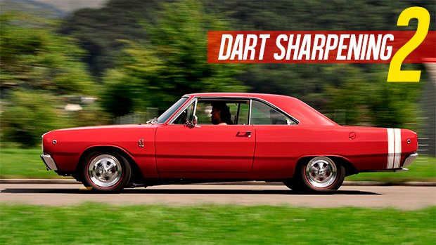 Especial preparação Dodge V8, Dart Sharpening: diferenciais, blocantes e suspensão traseira