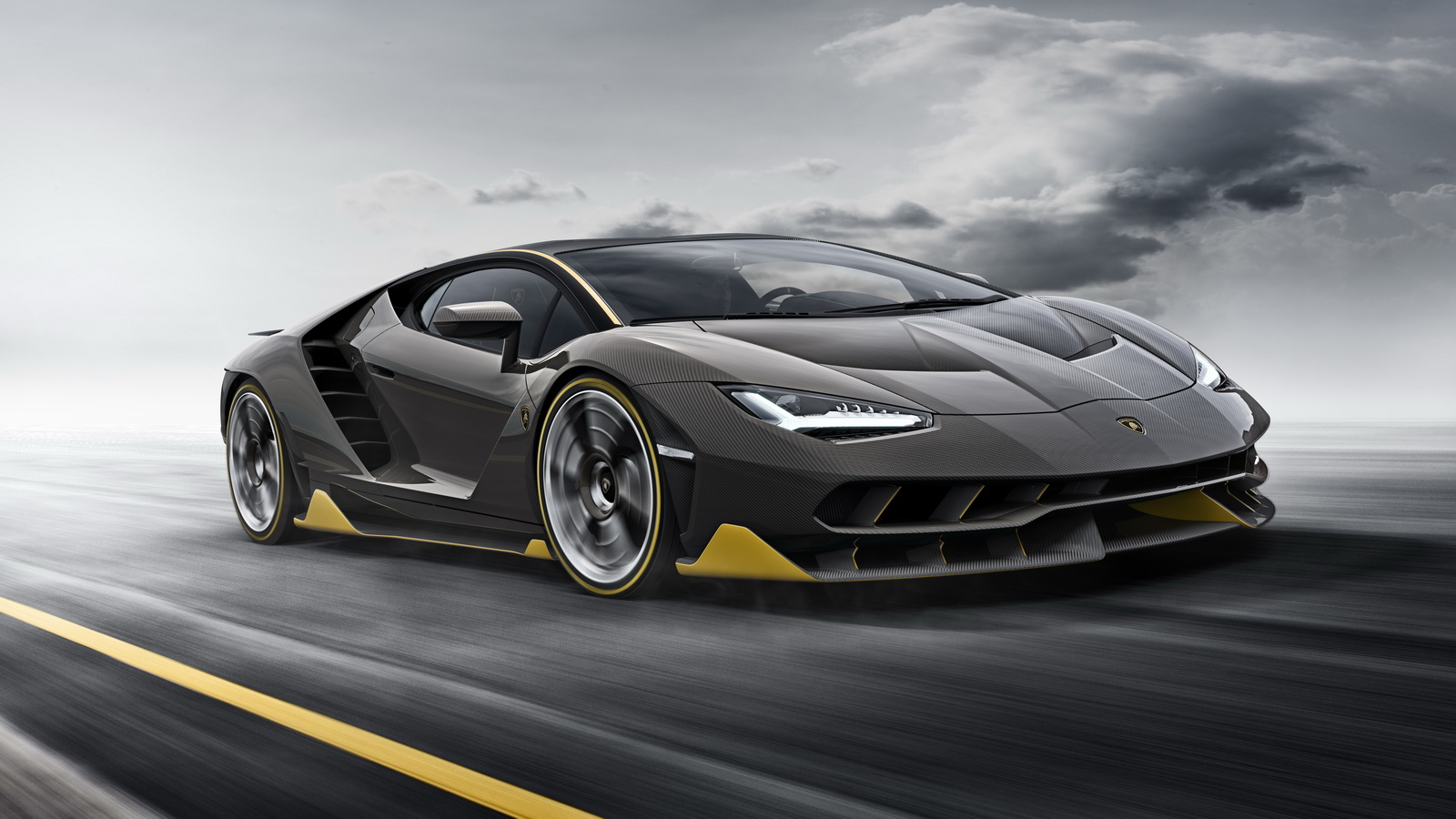 Lovely Lamborghini Centenario: 770 Cv Para O Touro Mais Furioso Da História