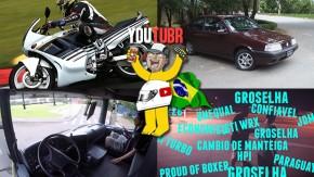 Motos esportivas dos anos 80 na pista, o clássico Fiat Tempra Turbo, manjadores de Internet e um Scania autônomo nos melhores vídeos da semana!