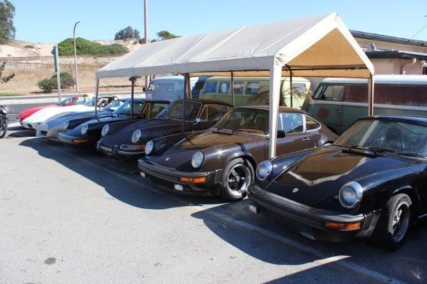35-Porsches
