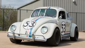 """O Fusca da Nascar de """"Herbie – Meu Fusca Turbinado"""", com motor 2.3 de 200 cv, está à venda"""