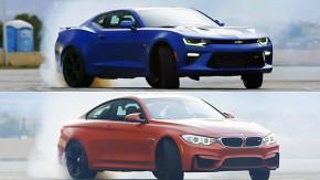 Chevrolet Camaro SS vs. BMW M4: será que a força bruta americana supera a engenharia alemã?