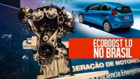 Ford lança Ecoboost 1.0 Turbo no Brasil, com 125 cv e 17,3 mkgf de torque: saiba todos os detalhes