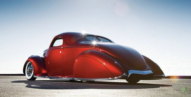 1937 Lincoln Zephyr Custom Favorite Cars Carzz 177665 Xl Flatout