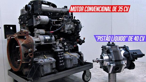 Pistão líquido? Conheça o novo motor que promete revolucionar a combustão interna!