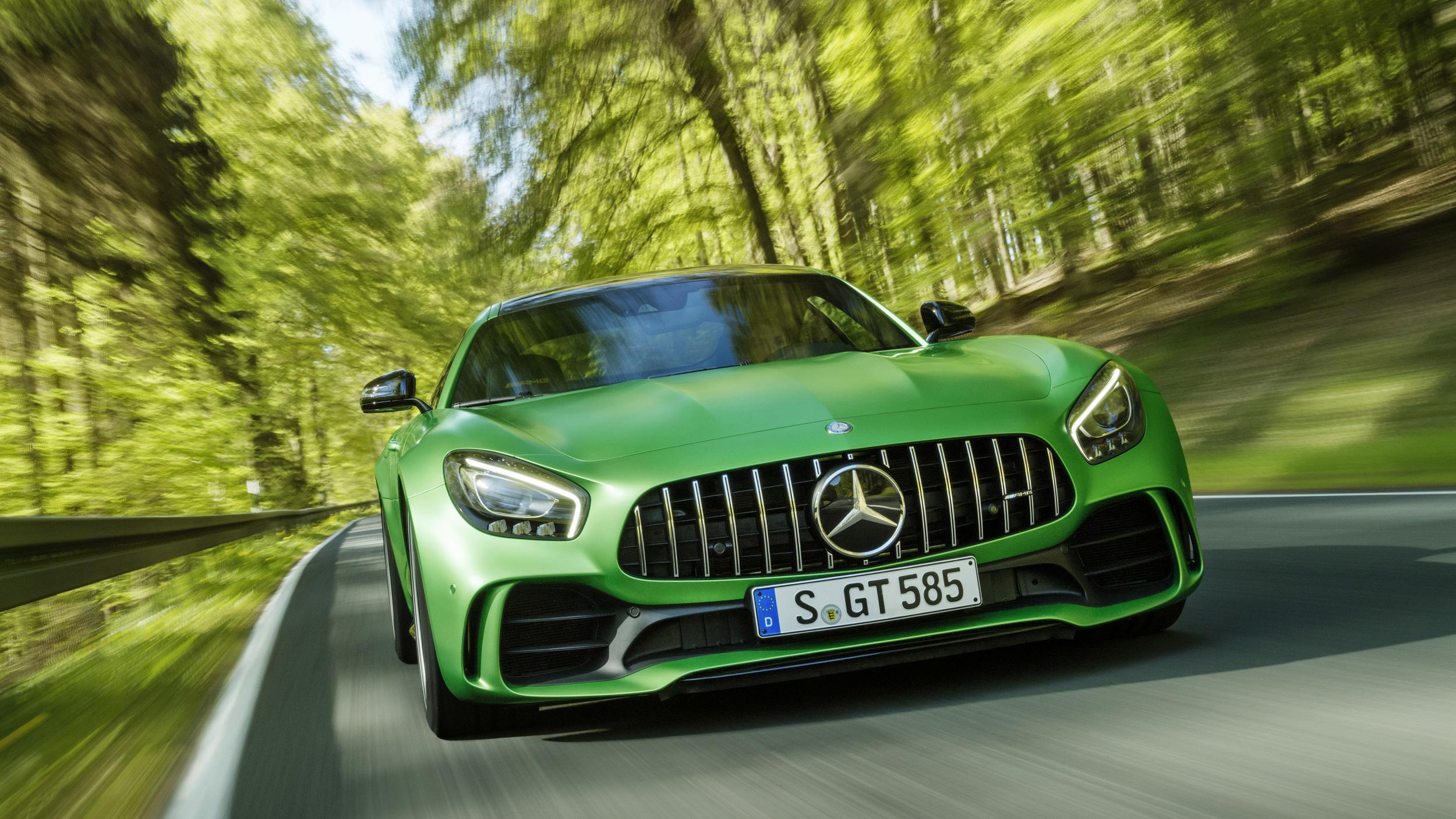 Mercedes Amg Gt R Um Monstro Verde De 585 Cv Que Veio