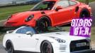 Godzilla superado? O Porsche 911 GT3 RS é mais rápido que o Nissan GT-R na arrancada