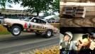 """O lendário Plymouth Barracuda """"Hemi Under Glass"""" capotou com Jay Leno dentro dele"""