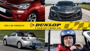"""DRL poderá ser usado no lugar do farol baixo, Honda revela NSX GT3 em ação, Peugeot e Citroën revelam consumo do """"mundo real"""" e mais!"""