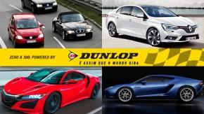 PRF aplica 3 mil multas por farois apagados por dia, Renault mostra sucessor do Fluence, Honda NSX terá versão Type R e mais!