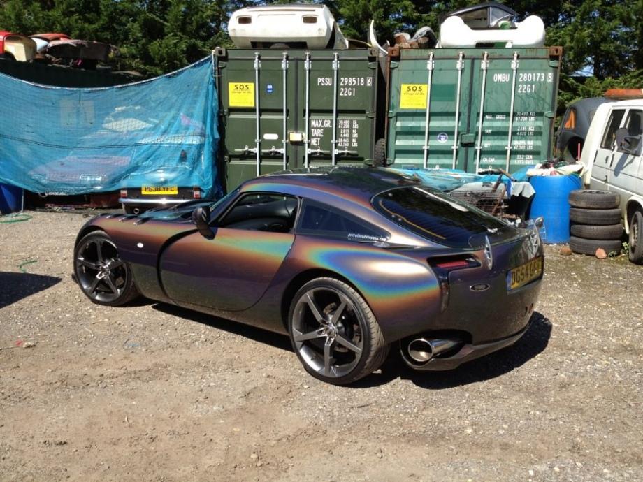 Flatout Black Paint Over Chrome