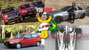 Hilux vs. S10 vs. Ranger, os segredos do Mercedes-AMG C63 S, hot hatches italianos em dose dupla e mais nos melhores vídeos da semana!