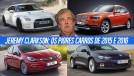 Rubbish! Os piores carros de 2015 e 2016, segundo Jeremy Clarkson