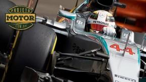 O peso do pé esquerdo: desvendando a técnica de Lewis Hamilton