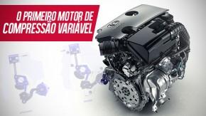 Infiniti VC-T: o primeiro motor de compressão variável finalmente está pronto
