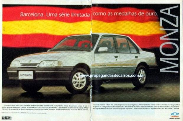 Monza Barcelona 1992 - propaganda