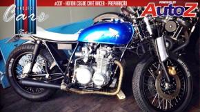 Honda CB500 Café Racer: a pintura e a montagem do Project #337