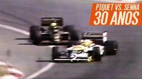 Hungria, 1986: os 30 anos do drift de Nelson Piquet em cima de Ayrton Senna