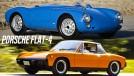 Flat-4: a história dos Porsche com motores de quatro cilindros