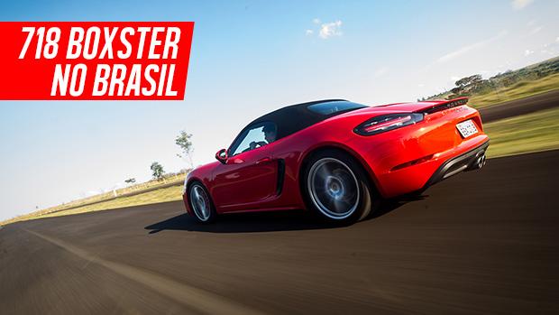 Aceleramos o Porsche 718 Boxster S: mais performance e eficácia, mudança radical de voz