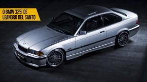 Para o track day, drift, ruas e estradas: conheça o BMW 325i de Leandro Del Santo